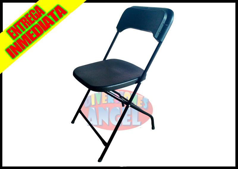 Venta de sillas plegables de plastico reforzadas for Sillas de plastico baratas