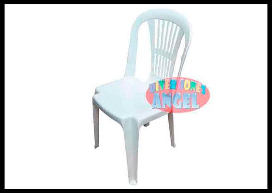 Venta de mobiliario venta de sillas for Sillas de plastico baratas