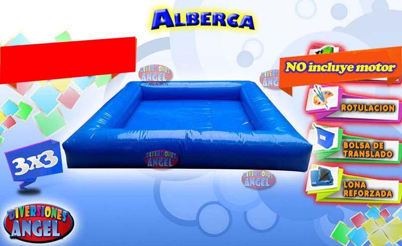 Venta de brincolines inflables alberca venta de for Accesorios para piscinas inflables